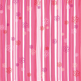 Romantic Pink Floral Backgrounds - vector #214551 gratis