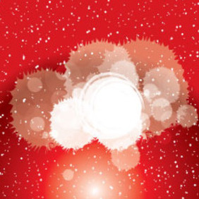 Dotted Red Background With Transparent Vector - Free vector #214701