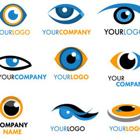 Eye Logotypes - Free vector #214751