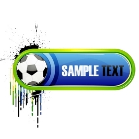 Colored Soccer Card - Free vector #214831