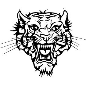 Tiger Vector Image VP - vector gratuit #214871