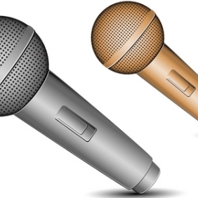 Mic Icons - Kostenloses vector #214901