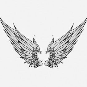 Free Wing Vector Element - Free vector #214931