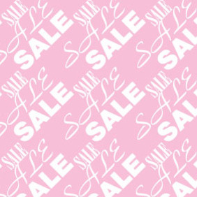 Sale Seamless Pattern - vector gratuit #215621