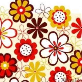 Free Flower Vector Background4 - Kostenloses vector #215701