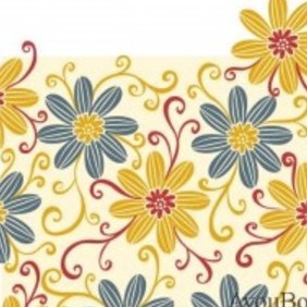 Free Flower Vector Background1 - Free vector #215711