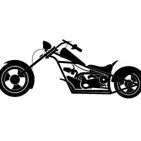 Motorcycle Vector - бесплатный vector #215801