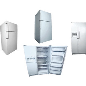 Vector Fridge Illustration - vector gratuit #215831
