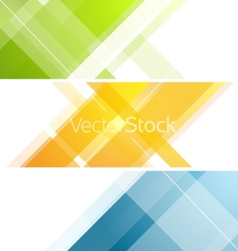 Free minimal tech geometric banners vector - vector #215861 gratis