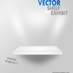 Vector Shelf For Exhibit - бесплатный vector #215871