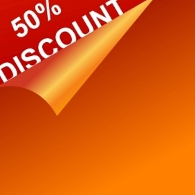 Vector Discount Template - Kostenloses vector #216241
