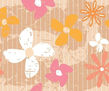 Flower Wall - vector gratuit #216321