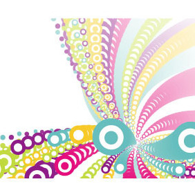 Colorful Abstract Background VP - vector #216431 gratis