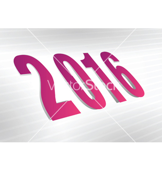 Free 2016 year vector - Free vector #216711