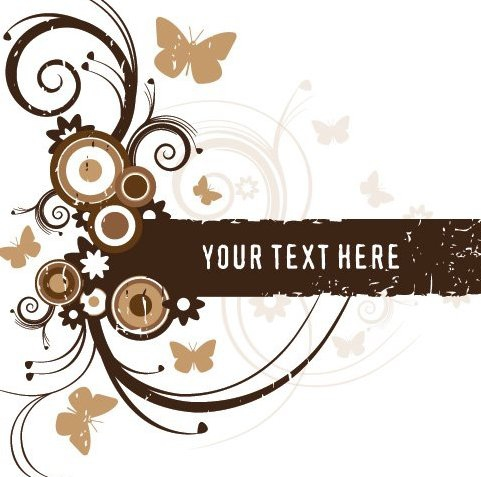 Brown Frame - Free vector #216771