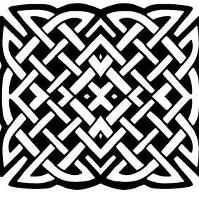 Celtic Knot Vector 6 - Kostenloses vector #216781