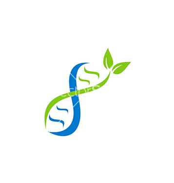 Freie Dna-Logo-Sanitäter Mit Blatt Logo Vektor Kostenloser Vektor ... | {Sanitäter symbol 72}