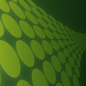 Retro Abstract Background Green - vector gratuit #217101