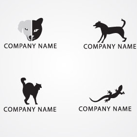 Animal Logo Pack 02 - vector gratuit #217141
