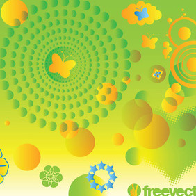 Spring Vector Art Graphics - Free vector #217341