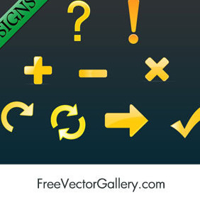Vector Signs - vector #217401 gratis