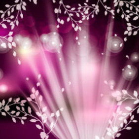 Shinning Spring Vector Background - Kostenloses vector #217441