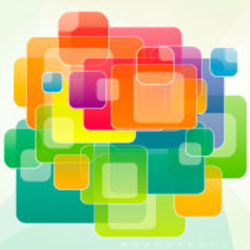 Square Vector Graphic Art - vector gratuit #217511
