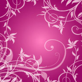 Swirly Pattern Vector Background - vector gratuit #217581