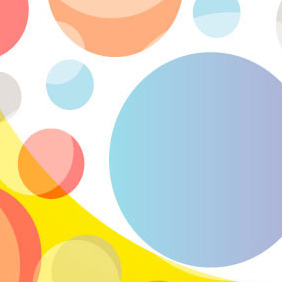 Roundy Circle Free Vector Background - бесплатный vector #217781
