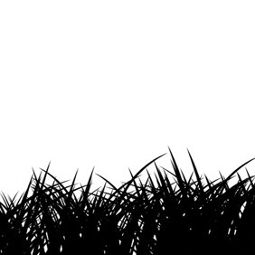 Vector Grass Silhouette - Free vector #217971