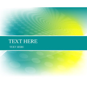 Abstract Green Yellow Background - vector #218261 gratis