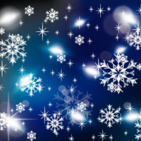 Cold Winter Vector Graphic - Kostenloses vector #218541
