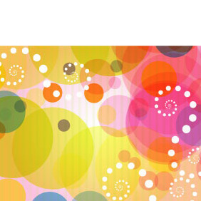 Abstract Colorful Vector Background - vector #218891 gratis