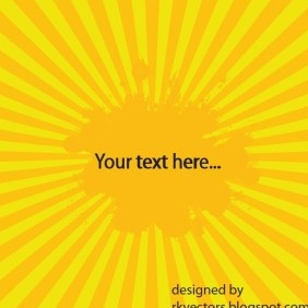 Vector Yellow Retro Backgrounds - vector #218941 gratis