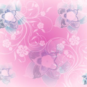 Pink Swirls Graphics - vector gratuit #219161