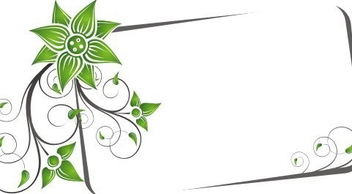 Swirly Banner - Free vector #219701