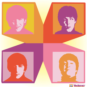The Beatles - vector #220111 gratis