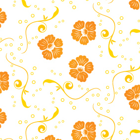 Download Floral Vector Pattern - Kostenloses vector #220271