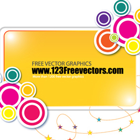 Funky Banner Vector - Free vector #220391