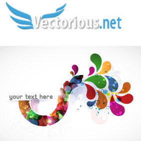 Abstract Colorful Background Vector Illustration - vector #220471 gratis