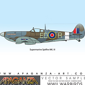 Spitfire - Free vector #220661