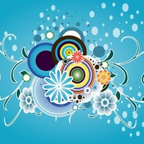 Colorful Vector Graphic Art - Free vector #220771