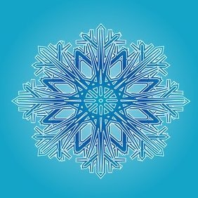 Blue Ornament - vector #220881 gratis
