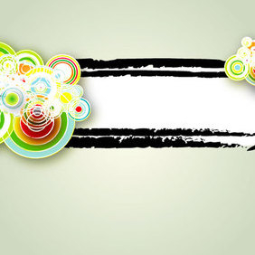 Vector Graphique Banner - Free vector #221041