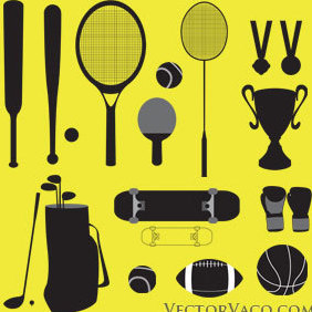 Sport Vector Graphics - Free vector #221071