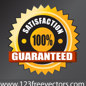 Satisfaction Guarantee Vector - Free vector #221081