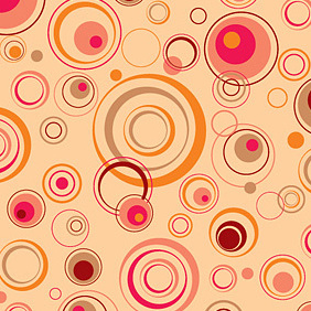 Playful Background Vector Graphic - Kostenloses vector #221391