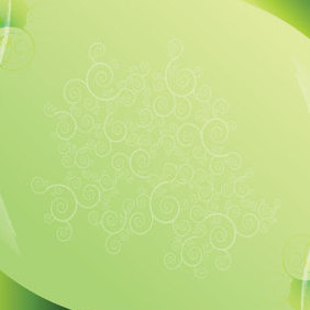 New Green Background Vector - Free vector #221541