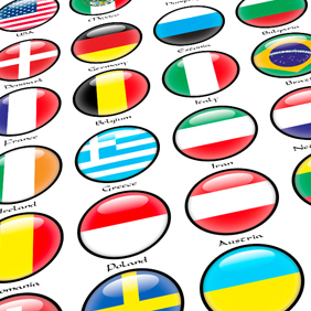 Ultimate Flagset - vector gratuit #221611