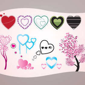 Heart Shape - Free vector #221711